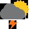 Durante la prima parte della giornata Coperto con piogge moderate tendente nella seconda parte della giornata Nubi sparse